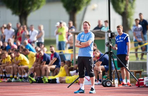 Früher stürmte er für die österreichische Nationalmannschaft, heute trainiert er Ingolstadt: Ralph Hasenhüttl.