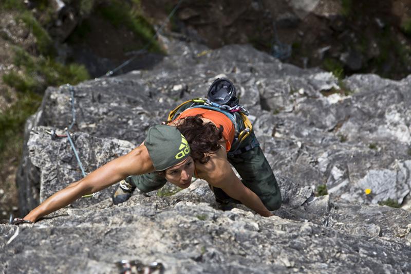 Manche Wege führten über sanfte Wiesen, andere über Gletscher oder steile Felsen.Foto: adidas/Tony Brey