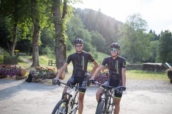 Martin Walder und Simon Schupfer, Team Gesundheitswelt Sillian