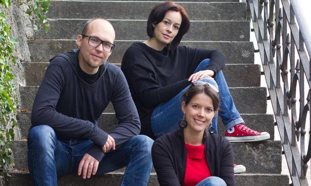 Der Osttiroler Tenor Wilfried Rogl und die Sopranistinnen Andrea Oberparleitner und Elisabeth Schnitzhofer. Foto: Stadtkultur Lienz