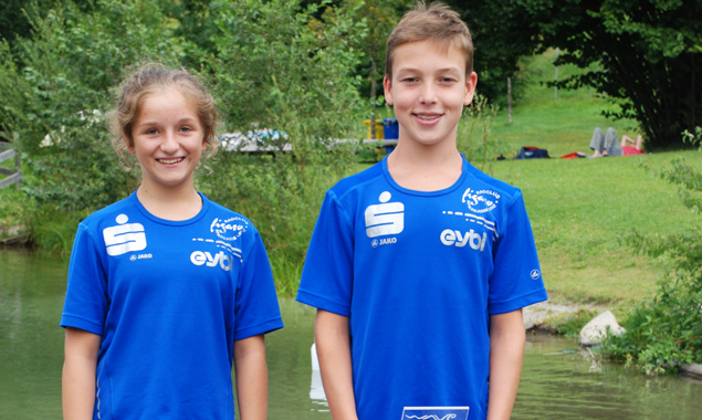 Marit Franz und Samuel Müllmann haben ihre Saison mit Höchstleistungen beendet. Fotos: RC-Figaro Sparkasse Lienz