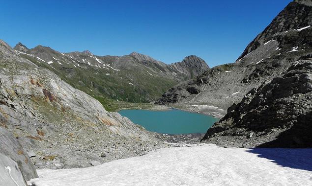 Das Ziel des Berglaufs: der Simonysee. Foto: Neo Diesel Osttirol