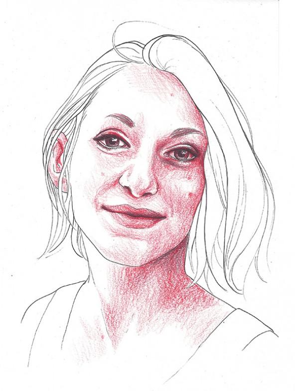 Anita Giovanna Rosati, porträtiert von Linda Steiner.