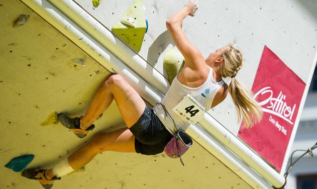 Berit Schwaiger siegte in Wien und will ihr Ergebnis in Lienz verteidigen. Foto: EXPA Pictures