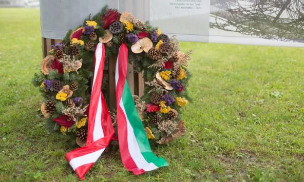 Wichtig war den Kartitschern bei der Feier das gemeinsame Gedenken mit den Italienern.