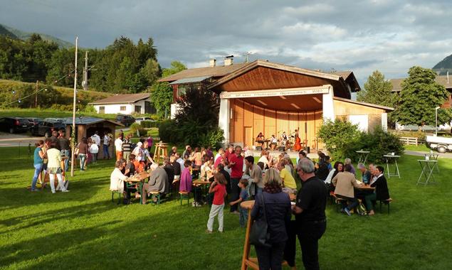 Der Chor Belcanto achtet in der Festorganisation sorgsam darauf, dass in Abfaltersbach neben dem Gaumen auch die Ohren zu ihrem Genuss kommen.