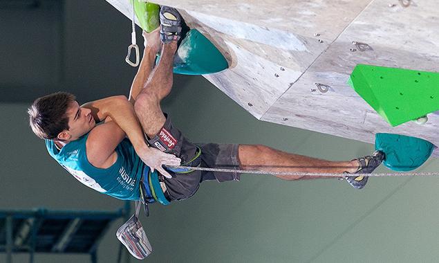 Kletterer Mario Lechner freut sich schon auf die Veranstaltung in Lienz.