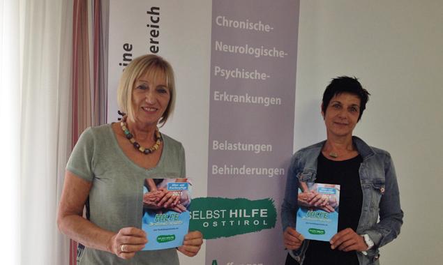 """Christl Rennhofer-Moritz und Inge Tagger stellten die Fortbildungsinitiative """"Hilfe für pflegende Angehörige"""" vor."""