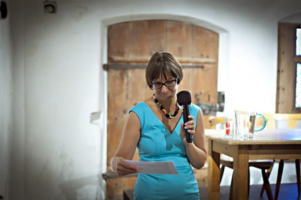 Claudia Moser konnte sich nach den langen Vorbereitungen freuen: Der Saal war bei der Eröffnung voll und das Gleiche galt für die Workshops.