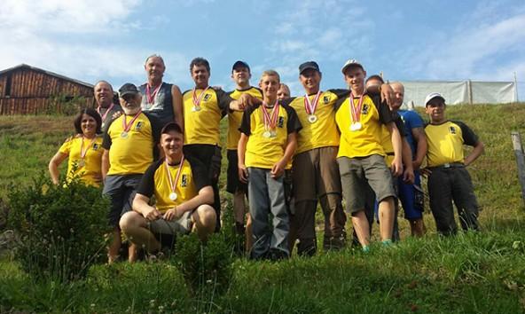 Mit reichlich Edelmetall kehrten die Iseltaler Bogenschützen von den Tiroler Meisterschaften heim.