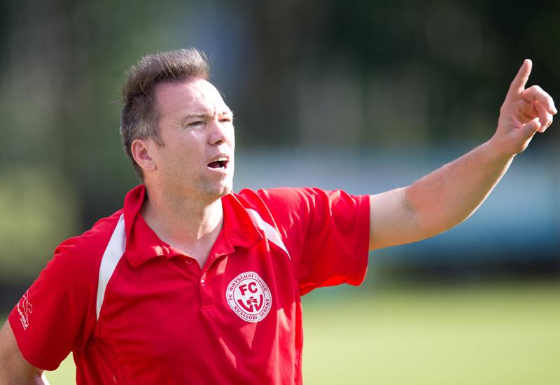 FC-WR-Trainer Ibel Alempic hatte an diesem Tag allen Grund zur Freude.