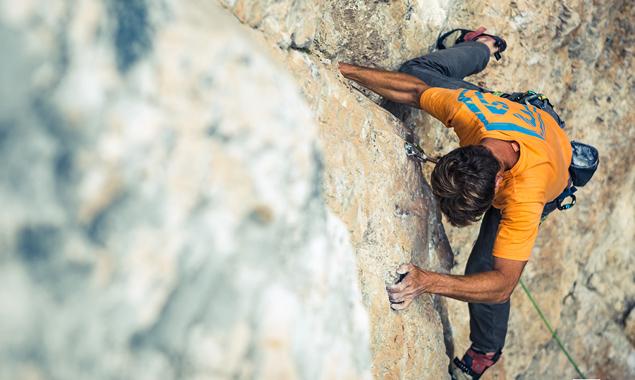 Bei Dolorock wird über atemberaubende Felsen geklettert, aber auch diskutiert. Fotos: Benedikt Troyer Photography