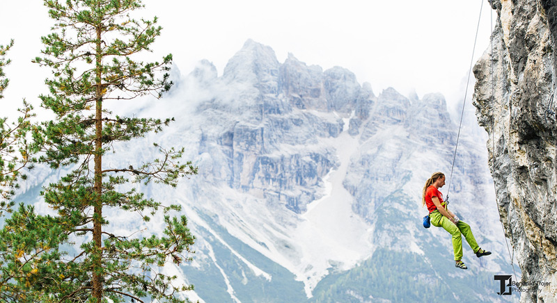 Auch die Aussicht ist bei diesem Kletterevent außergewöhnlich.