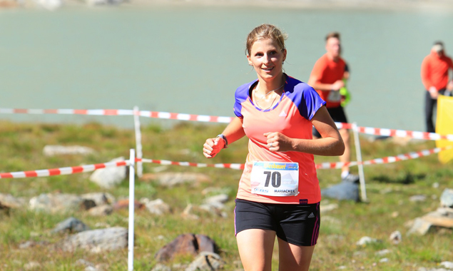 Barbara Presslaber aus Matrei i.O. war die schnellste Läuferin des Tages. Foto: Willi Seebacher