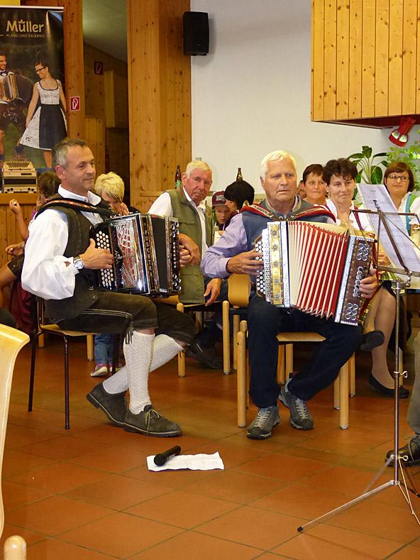 Auch die etablierten Musikanten hatten ihre Freude am Zusammenspiel.