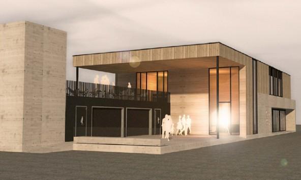 Der provisorische Entwurf des Architekturbüros Madritsch.