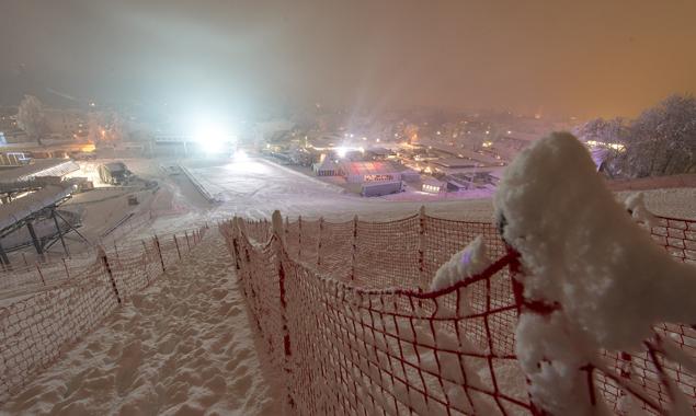Auf so viel Schnee, aber nicht in letzter Sekunde, hoffen die Veranstalter. Fotos: EXPA