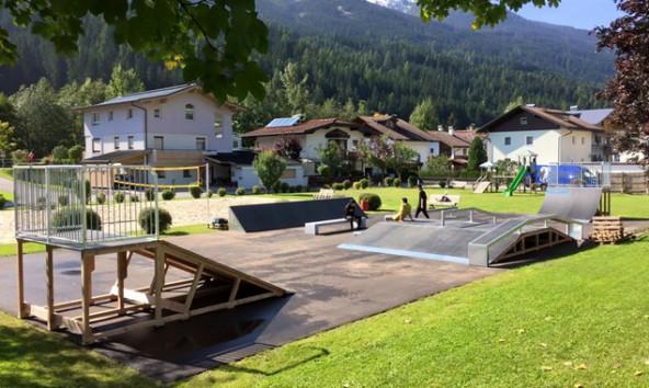 Der Park wurde gemeinsam mit den Jugendlichen geplant. Foto: IOU Ramps
