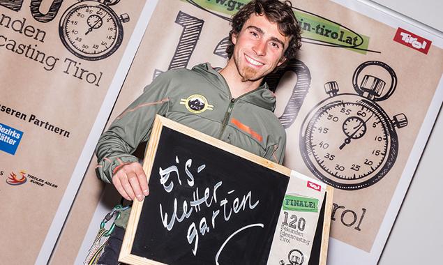 Vittorio Messini wünhscht sich einen Eisklettergarten in Matrei. Fotos: Standortagentur Tirol