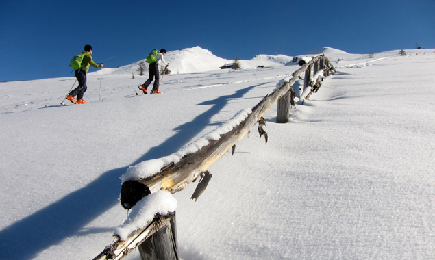 An der Studie kann jeder teilnehmen, der gerne Skitouren geht, egal ob aus reinem Vergnügen oder auch wettbewerbsmäßig. Foto: Alpenverein/MLarcher