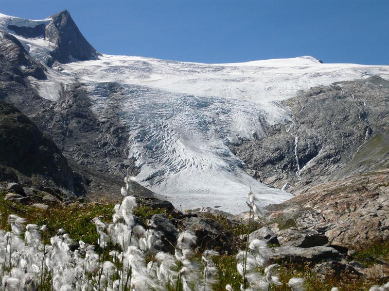 Der Schlatenkees im Gschlösstal ist ein vielbesichtigtes Ausflugsziel. Foto: Florian Jurgeit