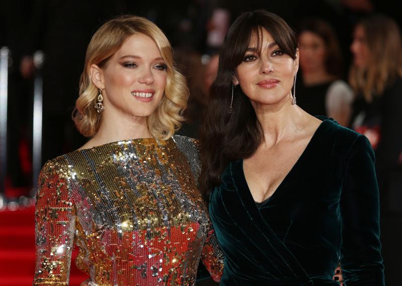 Gleich zwei Bond-Girls treten diesmal auf: Lea Seydoux und Monica Belucci.