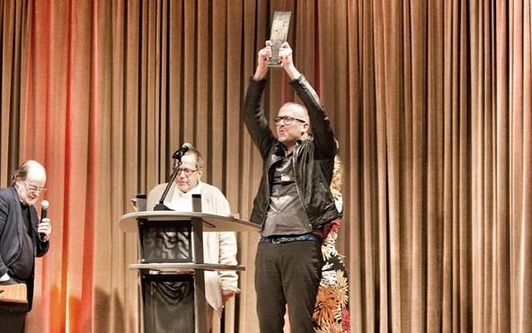 """Ende September gewann Bernhard Aichner den begehrten """"Crime Cologne Award""""."""