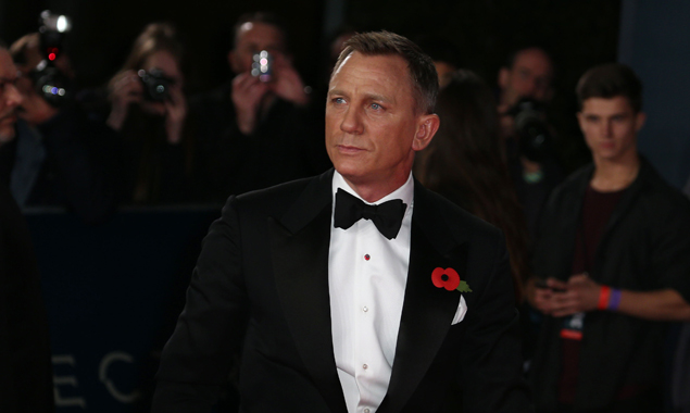 Daniel Craig bei der Premiere seines – vielleicht – letzten Bonds.