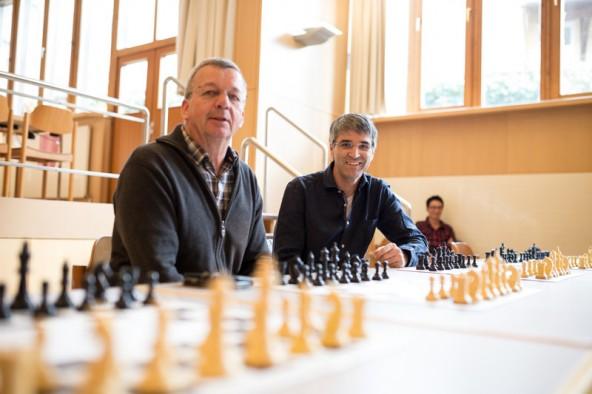Diese beiden steigen für Dolomitenstadt in den Ring: Fritzenwanger und Thaler.