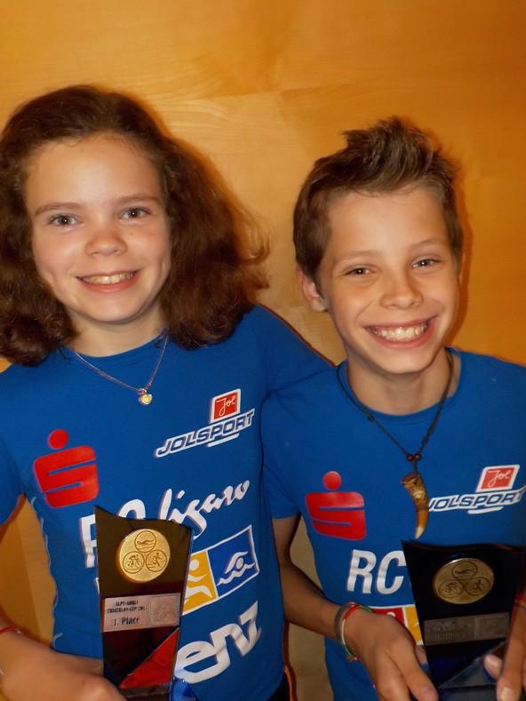Die Geschwister Leonie und Jonas Hauser krönten die aktuelle Saison zum Abschluss mit einem doppelten Sieg.