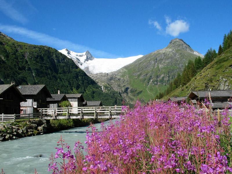 Das Gschlösstal vermittelt einen ganz besonderen Eindruck vom Leben in den Alpen. Foto: Emanuel Egger