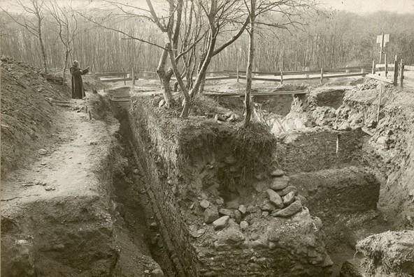 Innozenz Ploner war der erste, der umfangreiche archäologische Ausgrabungen in Aguntum durchführte. Fotos: Universität Innsbruck
