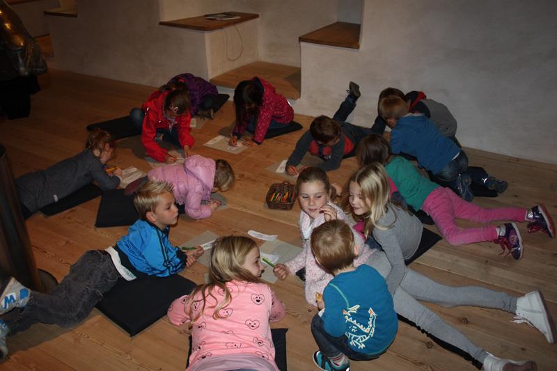 Für Kinder gibt es zum Saisonfinale nochmals besondere Attraktionen. Foto: Museum Schloss Bruck