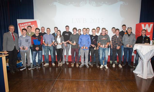Die Liste der prämierten Lehrlinge war lang an diesem Abend, denn die Osttiroler hatten im Wettbewerb grandios abgeschnitten.