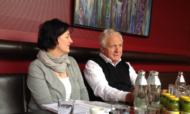 """Fritz Dinkhauser möchte für die Gemeinderatswahlen ganz besonders Frauen unterstützen, denn """"durch wenn Frauen dabei sind, gibt es gleich mehr Sozialpolitik."""""""