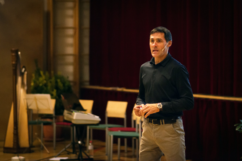 Motivator und Extremsportler Wolfgang Fasching sprach über die Verwirklichung von Träumen und Zielen.
