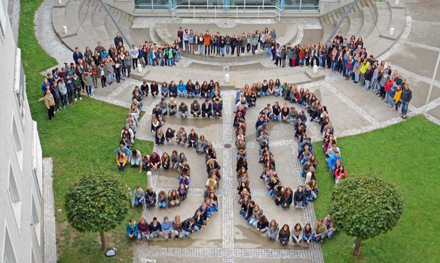 50 Jahre BORG Lienz, einmal anders präsentiert. Foto: BORG Lienz