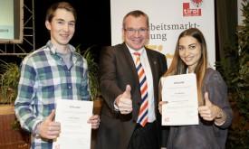 Land Tirol würdigt Osttiroler Lehrlinge
