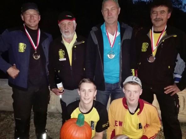 stehend v.l. Harald Niederegger, Alois Fuetsch, Peterpaul Mühlburger, Peter Niederegger; sitzend v.l. Mario Niederegger, Florian Niederegger. Foto: BSV Iseltal