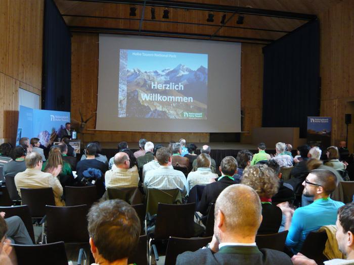 Die diesjährige Steinwildtagung in Kals. Fotos: NPHT/Jurgeit