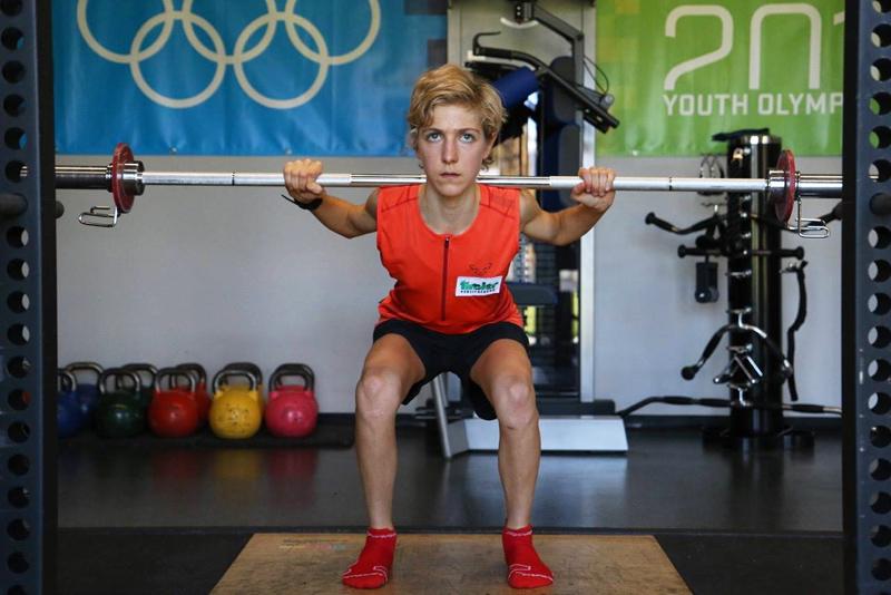Susanne Mair trainiert schon wieder. Fotos: Brunner Images