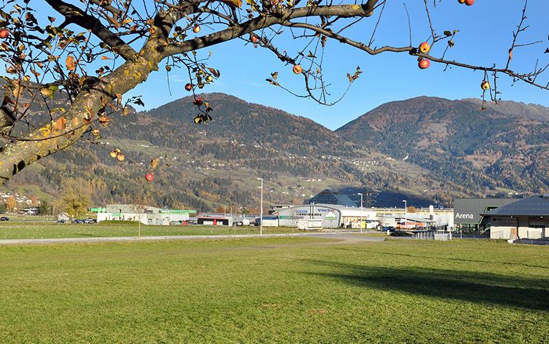 Neben RGO-Arena, Werkstätten, Tankstellle und Maschinenring wird sich bald auch ein Fachmarkt in den Agrarkomplex der Osttiroler Bauerngenossenschaft einreihen.