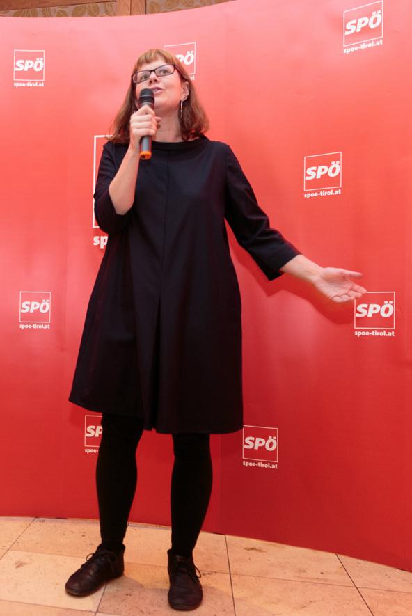 Bundesfrauengeschäftsführerin Andrea Brunner freut sich über eine SP-Konferenz im eigenen Bundesland.