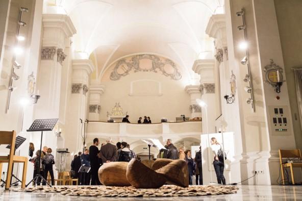 Die Spitalskirche bot ein würdiges Ambiente für diesen Abend.