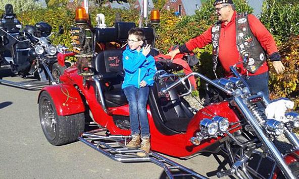 Das Motorradfahren war nur einer der vielen Höhepunkte auf dieser Belgienreise. Fotos: Sonderschule Lienz.