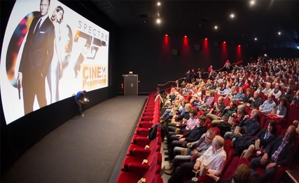 Gleich geht es los. Auf das Publikum wartet großes Kino!