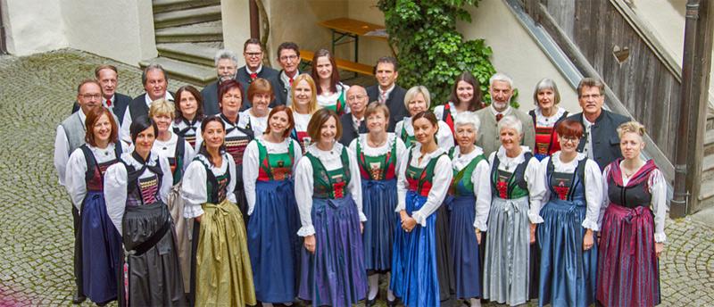 Der Osttiroler Liederchor präsentiert in Thurn seine Lieder. Foto: Osttiroler Lehrerchor