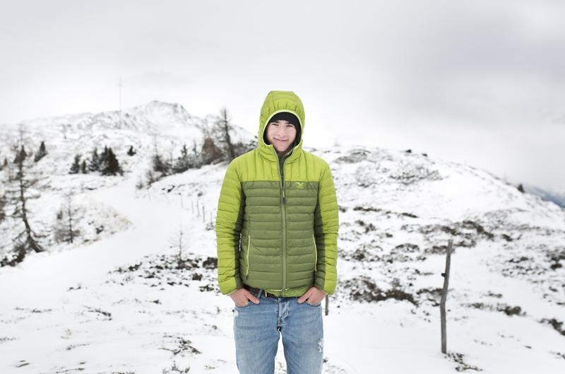 Die erste Alpintour liegt schon hinter ihm.