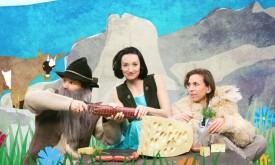Heidi und der Almöhi als Kindertheater in Lienz