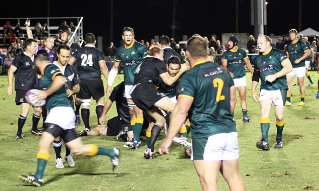 Rugby gilt als Raudi-Sport von Gentlemen. Fotos: Knut Heinz